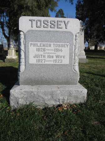 TOSSEY, JUDITH - Union County, Ohio | JUDITH TOSSEY - Ohio Gravestone Photos