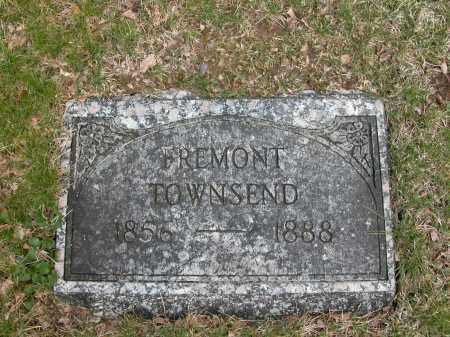 TOWNSEND, FREMONT - Union County, Ohio | FREMONT TOWNSEND - Ohio Gravestone Photos
