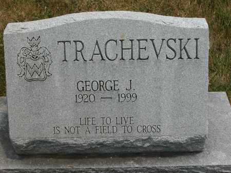 TRACHEVSKI, GEORGE J. - Union County, Ohio | GEORGE J. TRACHEVSKI - Ohio Gravestone Photos