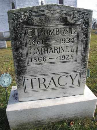 TRACY, COLUMBUS D. - Union County, Ohio | COLUMBUS D. TRACY - Ohio Gravestone Photos