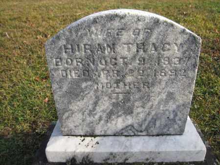 TRACY, MARTHA - Union County, Ohio | MARTHA TRACY - Ohio Gravestone Photos