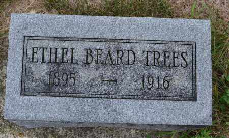 TREES, ETHEL BEARD - Union County, Ohio | ETHEL BEARD TREES - Ohio Gravestone Photos