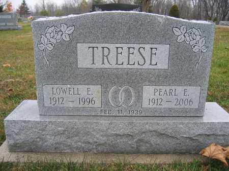 TREESE, LOWELL E. - Union County, Ohio | LOWELL E. TREESE - Ohio Gravestone Photos