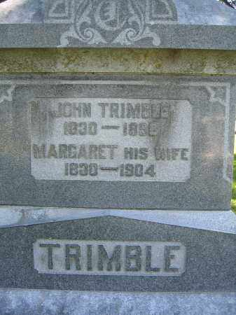 TRIMBLE, MARGARET - Union County, Ohio | MARGARET TRIMBLE - Ohio Gravestone Photos