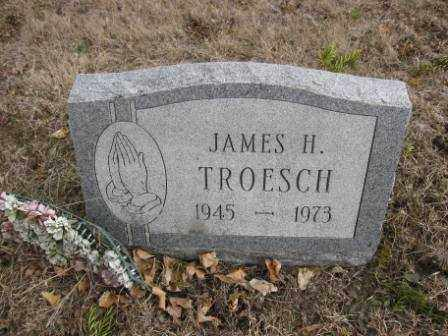 TROESCH, JAMES H. - Union County, Ohio | JAMES H. TROESCH - Ohio Gravestone Photos
