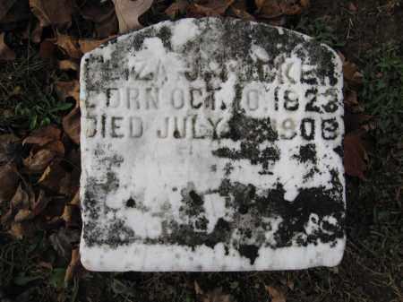 TUCKER, ELIZA J. - Union County, Ohio | ELIZA J. TUCKER - Ohio Gravestone Photos