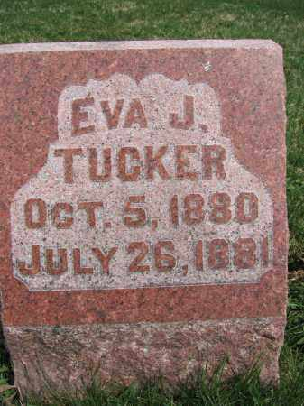TUCKER, EVA J - Union County, Ohio | EVA J TUCKER - Ohio Gravestone Photos