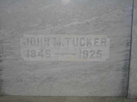 TUCKER, JOHN M. - Union County, Ohio | JOHN M. TUCKER - Ohio Gravestone Photos