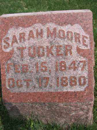 MOORE TUCKER, SARAH - Union County, Ohio | SARAH MOORE TUCKER - Ohio Gravestone Photos