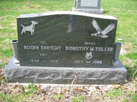TULLER, ROGER EBRIGHT - Union County, Ohio | ROGER EBRIGHT TULLER - Ohio Gravestone Photos