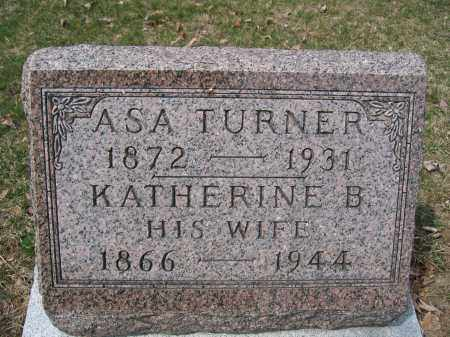 TURNER, KATHERINE B. - Union County, Ohio | KATHERINE B. TURNER - Ohio Gravestone Photos
