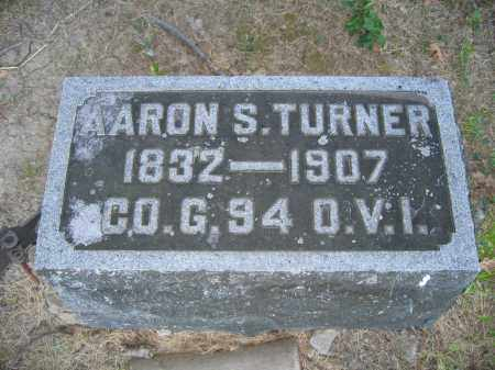 TURNER, AARON S. - Union County, Ohio | AARON S. TURNER - Ohio Gravestone Photos