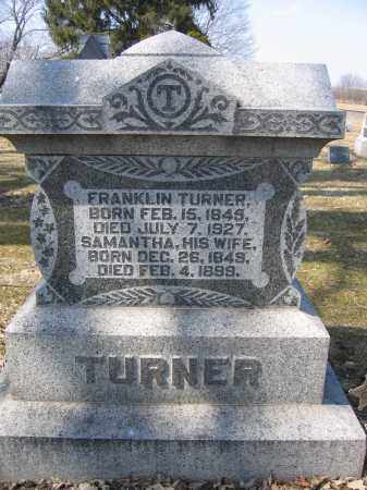 TURNER, SAMANTHA - Union County, Ohio | SAMANTHA TURNER - Ohio Gravestone Photos
