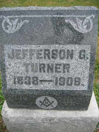 TURNER, JEFFERSON G. - Union County, Ohio | JEFFERSON G. TURNER - Ohio Gravestone Photos