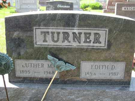 TURNER, EDITH D. - Union County, Ohio | EDITH D. TURNER - Ohio Gravestone Photos