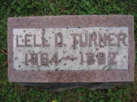 TURNER, LELL D. - Union County, Ohio | LELL D. TURNER - Ohio Gravestone Photos