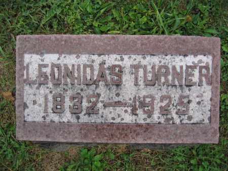 TURNER, LEONIDAS - Union County, Ohio | LEONIDAS TURNER - Ohio Gravestone Photos