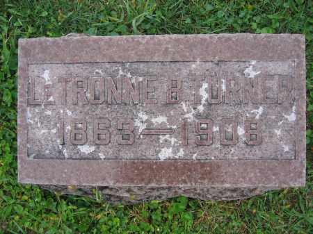 TURNER, LETRONNE B. - Union County, Ohio | LETRONNE B. TURNER - Ohio Gravestone Photos