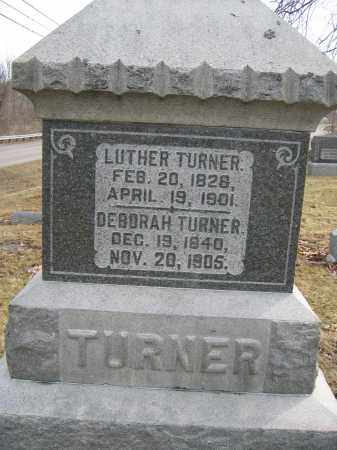 TURNER, LUTHER - Union County, Ohio | LUTHER TURNER - Ohio Gravestone Photos