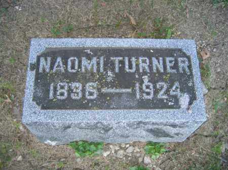 TURNER, NAOMI - Union County, Ohio | NAOMI TURNER - Ohio Gravestone Photos