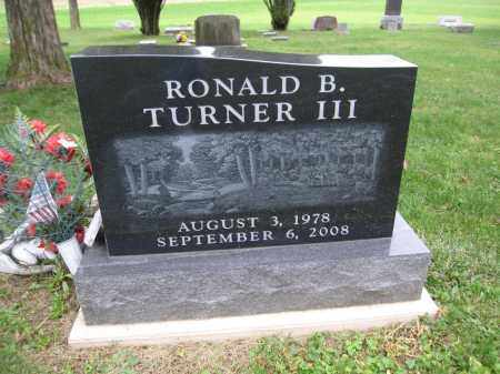 TURNER, RONALD B. - Union County, Ohio | RONALD B. TURNER - Ohio Gravestone Photos