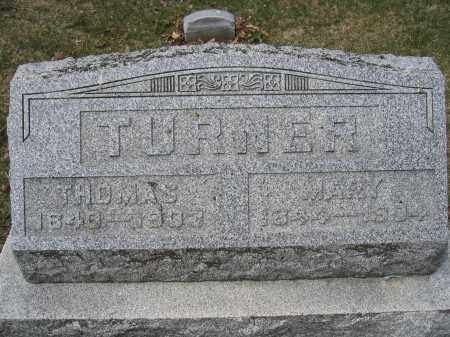 TURNER, THOMAS - Union County, Ohio | THOMAS TURNER - Ohio Gravestone Photos