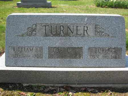 TURNER, BURT O. - Union County, Ohio | BURT O. TURNER - Ohio Gravestone Photos