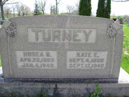 TURNEY, HOSEA B. - Union County, Ohio | HOSEA B. TURNEY - Ohio Gravestone Photos