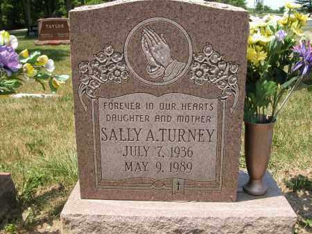 TURNEY, SALLY A. - Union County, Ohio | SALLY A. TURNEY - Ohio Gravestone Photos
