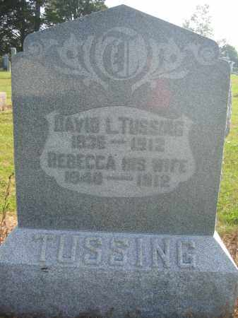 TUSSING, DAVID L. - Union County, Ohio | DAVID L. TUSSING - Ohio Gravestone Photos