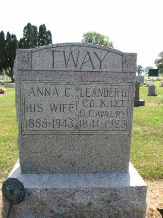 TWAY, ANNA C. - Union County, Ohio | ANNA C. TWAY - Ohio Gravestone Photos