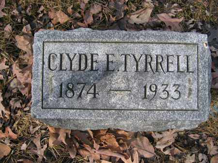 TYRRELL, CLYDE E. - Union County, Ohio | CLYDE E. TYRRELL - Ohio Gravestone Photos