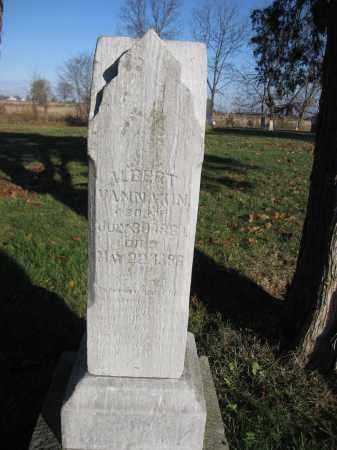 VANAKIN, ALBERT - Union County, Ohio | ALBERT VANAKIN - Ohio Gravestone Photos
