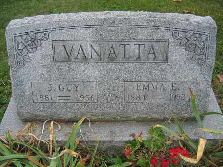 VANATTA, EMMA E. - Union County, Ohio | EMMA E. VANATTA - Ohio Gravestone Photos