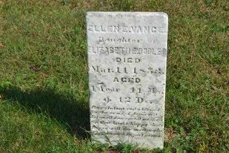 VANCE, ELLEN E. - Union County, Ohio | ELLEN E. VANCE - Ohio Gravestone Photos