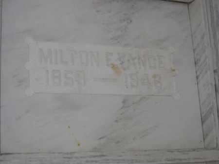 VANCE, MILTON E. - Union County, Ohio | MILTON E. VANCE - Ohio Gravestone Photos