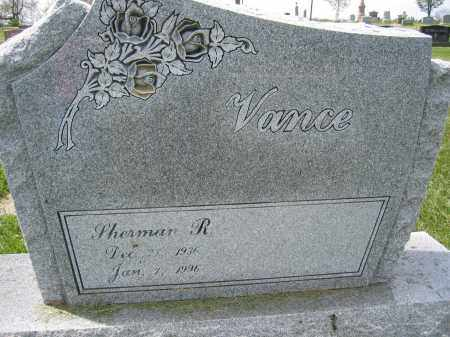 VANCE, SHERMAN R. - Union County, Ohio | SHERMAN R. VANCE - Ohio Gravestone Photos