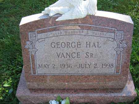 VANCE, SR., GEORGE HAL - Union County, Ohio | GEORGE HAL VANCE, SR. - Ohio Gravestone Photos
