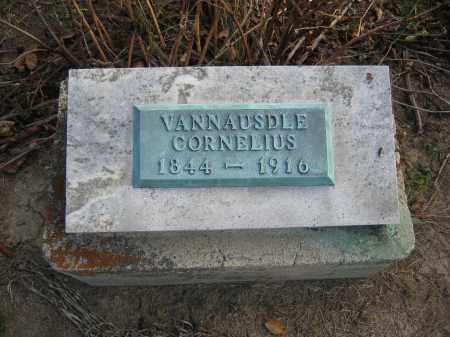 VANNAUSDLE, CORNELIUS - Union County, Ohio | CORNELIUS VANNAUSDLE - Ohio Gravestone Photos