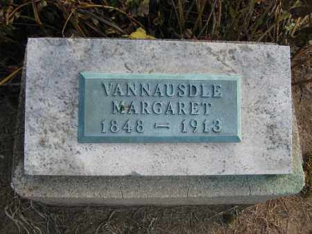 VANNAUSDLE, MARGARET - Union County, Ohio | MARGARET VANNAUSDLE - Ohio Gravestone Photos
