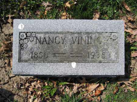 VINING, NANCY - Union County, Ohio | NANCY VINING - Ohio Gravestone Photos