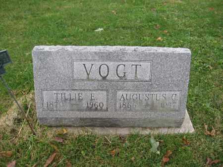 VOGT, TILLIE E. - Union County, Ohio | TILLIE E. VOGT - Ohio Gravestone Photos