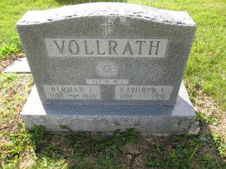 VOLLRATH, KATHRYN L. - Union County, Ohio | KATHRYN L. VOLLRATH - Ohio Gravestone Photos