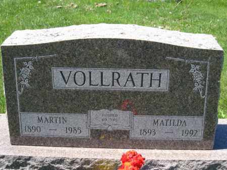 VOLLRATH, MARTIN - Union County, Ohio | MARTIN VOLLRATH - Ohio Gravestone Photos