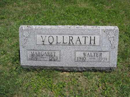 VOLLRATH, MARGARET - Union County, Ohio | MARGARET VOLLRATH - Ohio Gravestone Photos