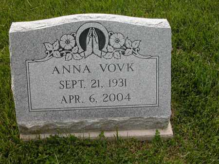 VOVK, ANNA - Union County, Ohio | ANNA VOVK - Ohio Gravestone Photos