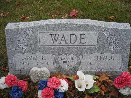 WADE, JAMES E. - Union County, Ohio | JAMES E. WADE - Ohio Gravestone Photos