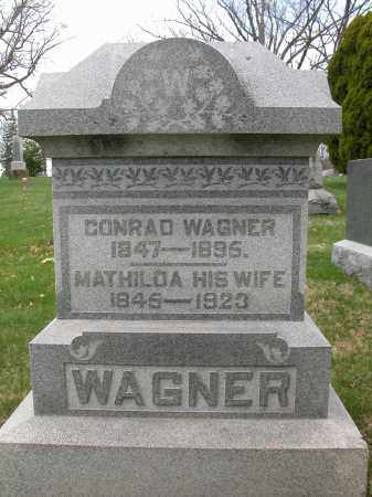 WAGNER, MATHILDA - Union County, Ohio | MATHILDA WAGNER - Ohio Gravestone Photos