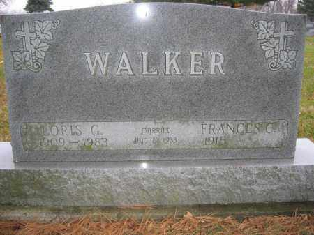 WALKER, FRANCES C. - Union County, Ohio | FRANCES C. WALKER - Ohio Gravestone Photos