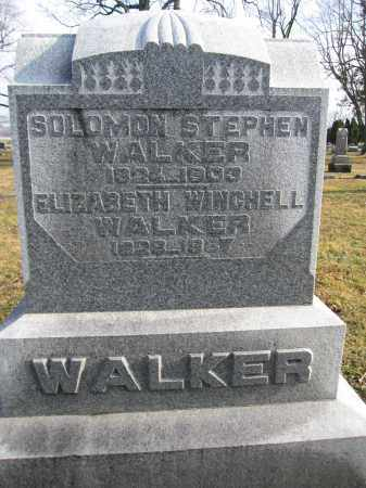 WALKER, ELIZABETH WINCHELL - Union County, Ohio | ELIZABETH WINCHELL WALKER - Ohio Gravestone Photos